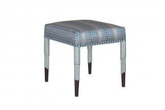 中国较好的家具品牌电商高端家具法式咖啡银梳妆凳