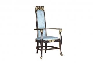 88bf必发娱乐豪宅家具楼盘家具法式咖啡色形象椅