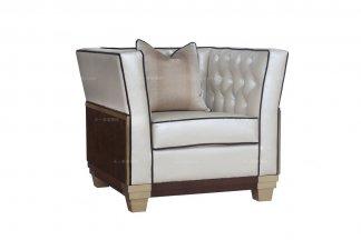 五星级酒店万博手机网页名贵法式万博手机网页品牌咖啡色单人位沙发
