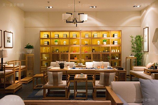 高端奢华中式客厅家具名贵榆木家具茶桌+茶椅+罗汉床系列组合