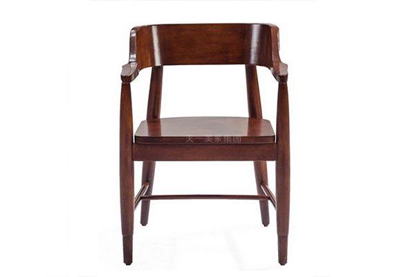 豪华别墅家具高端好实木圈椅书椅休闲椅