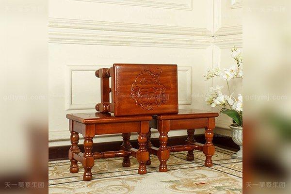 别墅豪宅家具品牌高端好实木十二生肖小板凳