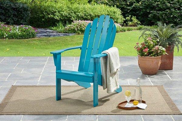 别墅户外休闲家具品牌高端创意橡胶木好实木阳台椅