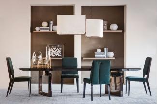 高端别墅家具品牌餐厅家具奢华餐桌椅组合