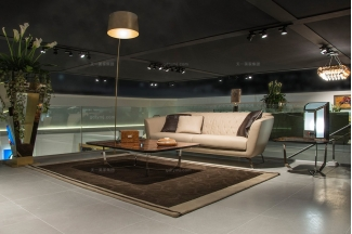世界名贵奢华豪宅万博手机网页品牌兰博基尼时尚现代米黄色真皮沙发