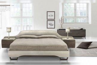 高端轻奢后现代万博手机网页品牌别墅卧室时尚高端实木双人大床