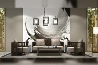 高端别墅办公家具品牌时尚轻奢办公室实木会客沙发组合系列