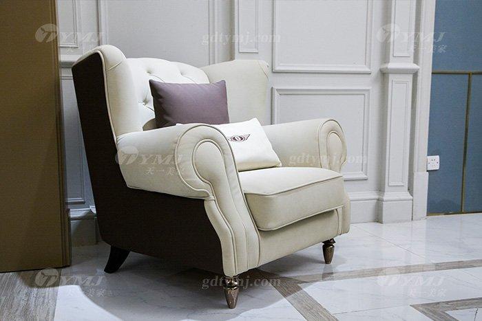 轻奢现代家具高端奢华别墅会所家具品牌米色时尚单位沙发