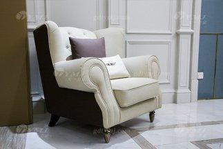 轻奢现代家具高端奢华88bf必发娱乐会所家具品牌米色时尚单位沙发