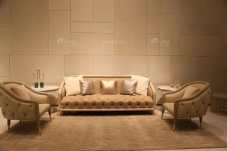 高端意大利100%纯进口时尚轻奢家具别墅豪宅家具品牌客厅真皮沙发组合