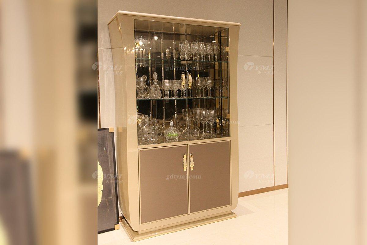 高端别墅豪宅家具品牌意大利进口家具时尚轻奢酒柜