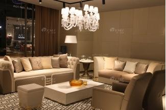 意大利100%纯进口万博手机网页时尚轻奢别墅会所万博手机网页品牌真皮客厅沙发组合