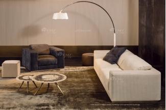 时尚轻奢万博手机网页品牌意大利100%纯进口别墅万博手机网页客厅真皮沙发