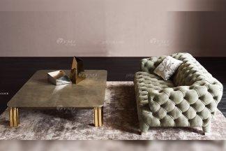 时尚轻奢别墅万博手机网页意大利纯进口品牌创意拉扣高弹海棉沙发