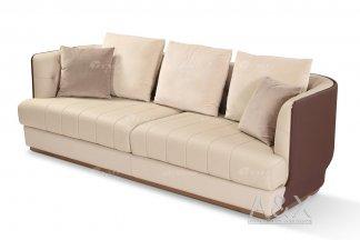 时尚别墅家具会所家具样板间家具轻奢后现代客厅咖啡头层皮多人沙发