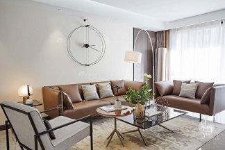甘肃酒泉常青华悦府样板间--意式极简、现代&新中式轻奢家具及软装工程整