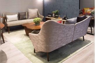 创意别墅会所家具品牌现代极简北欧客厅家具优质布艺沙发系列