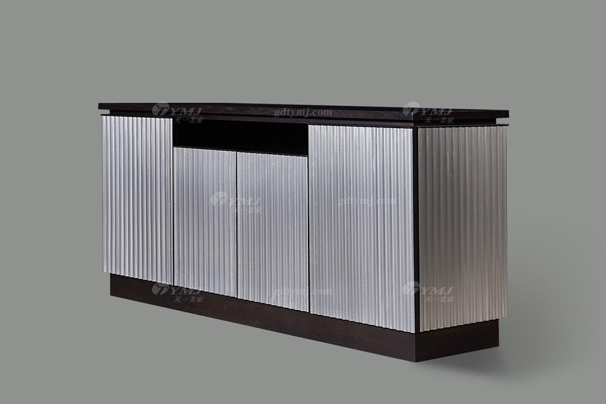 高端别墅会所家具品牌现代极简北欧创意餐边柜妆台系列餐边柜