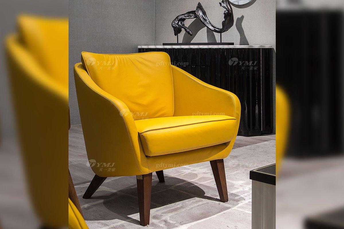 高端别墅会所家具品牌现代极简轻奢北欧家具创意高弹高密度海绵优质布艺头层