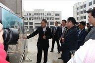 河南省委常委、常务副省长李克、副省长王艳玲到信阳天一美家产业园参观指导