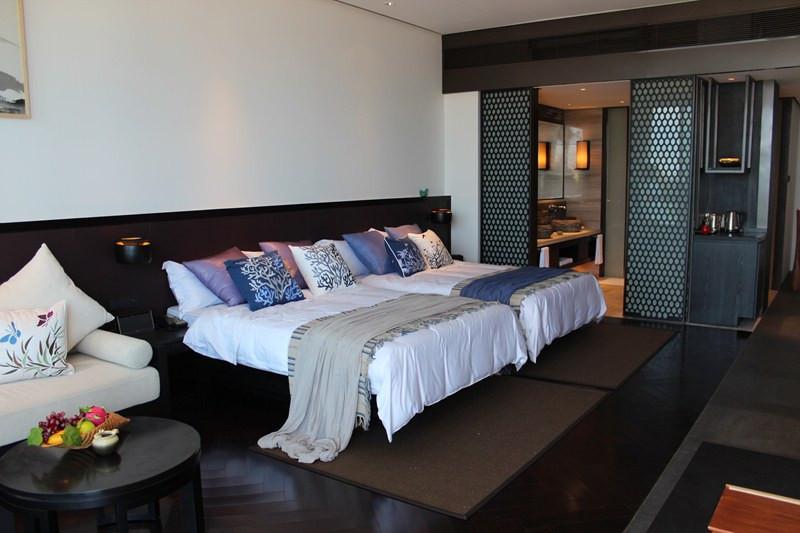 【天一美家案例】惠州双月湾檀悦豪生酒店-中式样板房