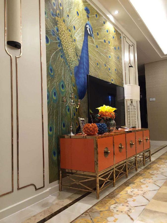 【天一美家案例】广州500亿万达文化旅游城-样板房工程