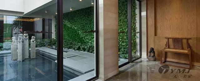 【天一美家案例】中山万科柏悦湾别墅-新中式家具软装一体化