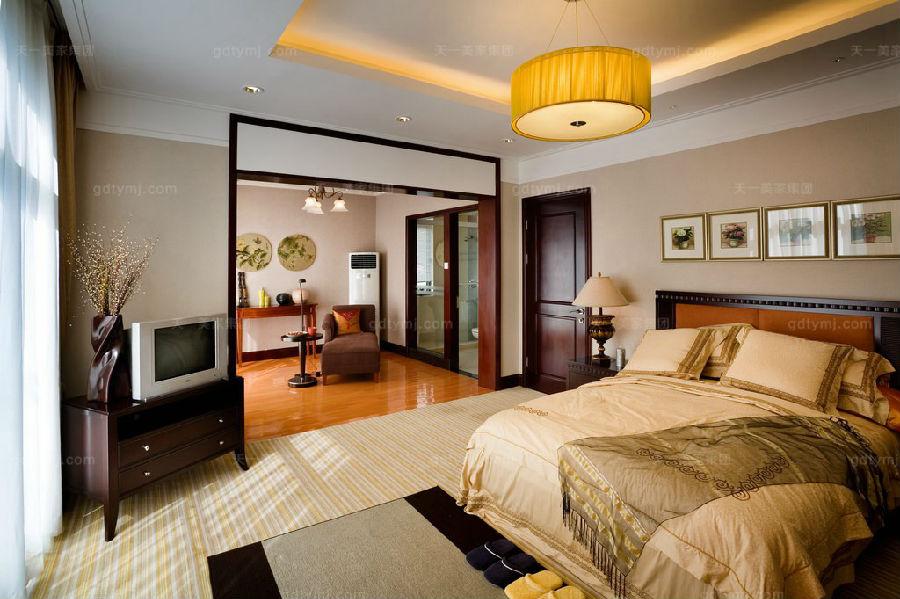 高端别墅家具卧室
