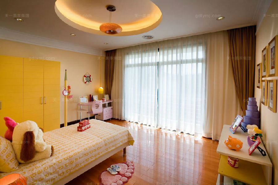 高端别墅家具卧室1