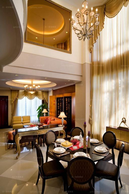 高端别墅家具餐厅1