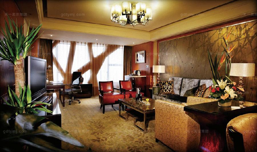 星级酒店家具客厅