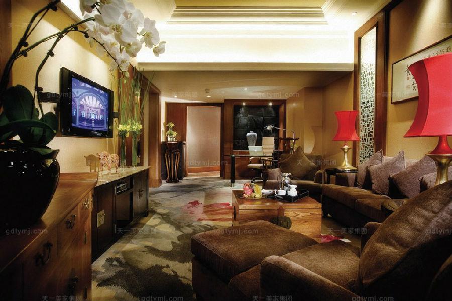 星级酒店家具客厅1