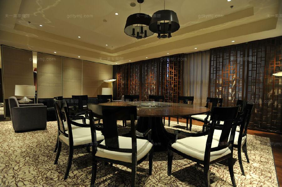 星级酒店家具餐厅2