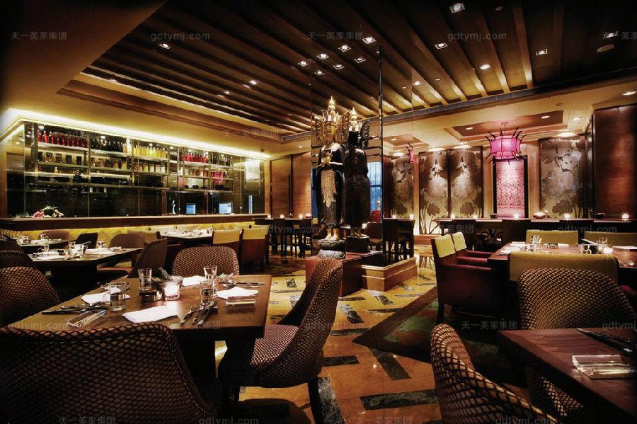 星级酒店家具公共就餐区