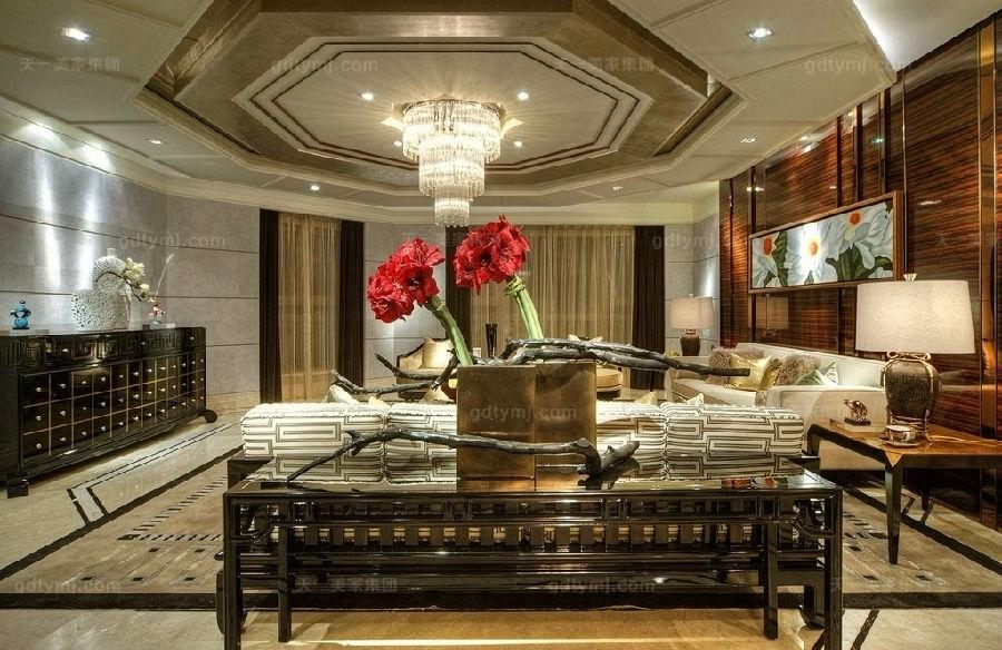 奢华新古典家具客厅2
