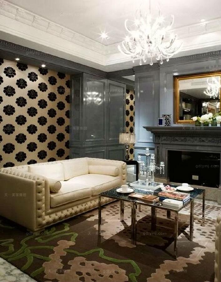 奢华新古典家具客厅5