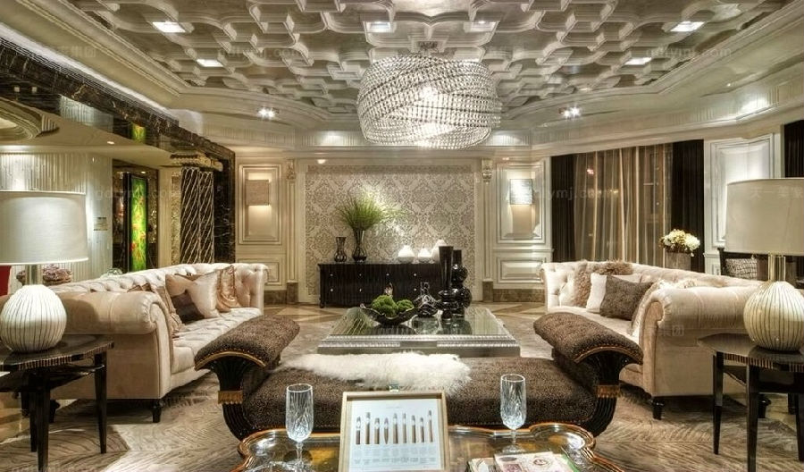 奢华新古典家具客厅6