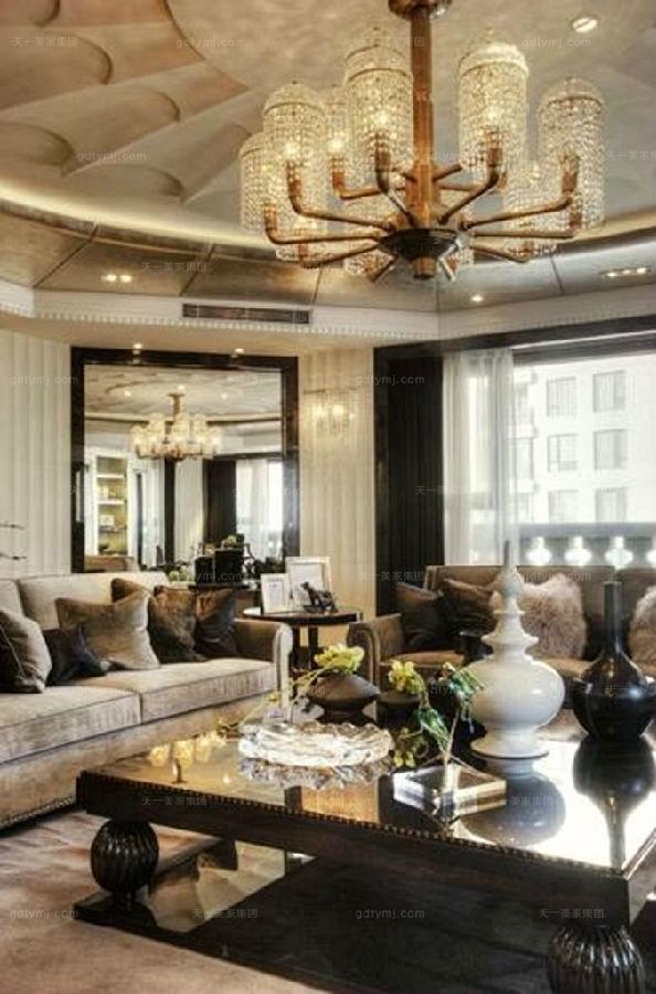 奢华新古典家具客厅7