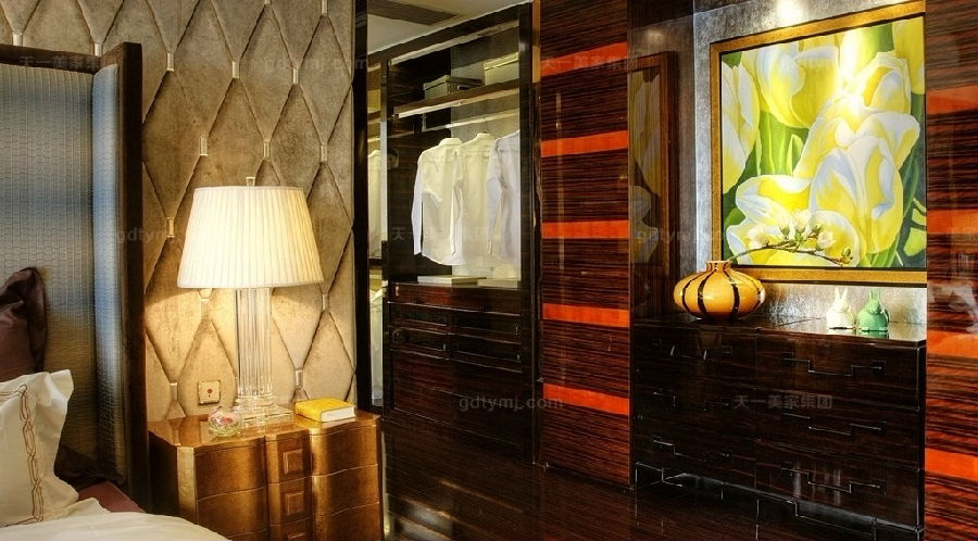 奢华新古典家具卧室