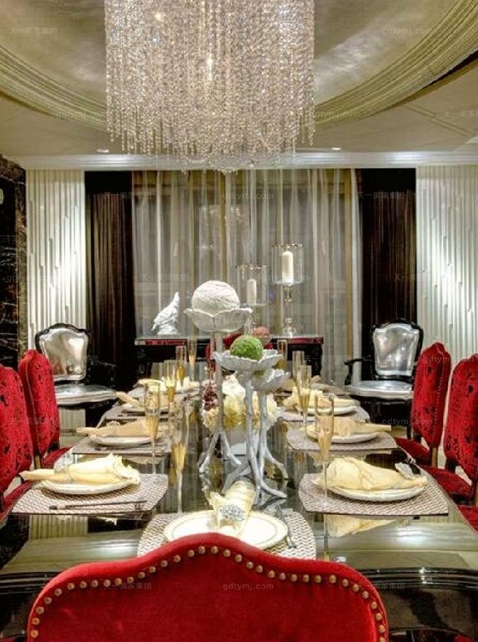 奢华新古典家具餐厅3