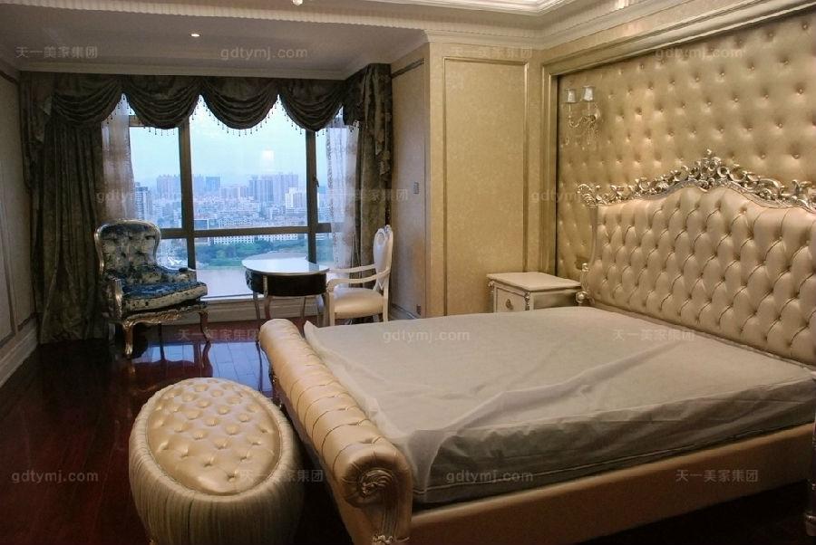 别墅新古典万博手机网页卧室4