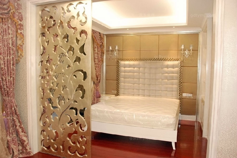 别墅新古典万博手机网页卧室10