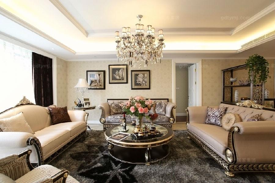 奢华新古典家具客厅1