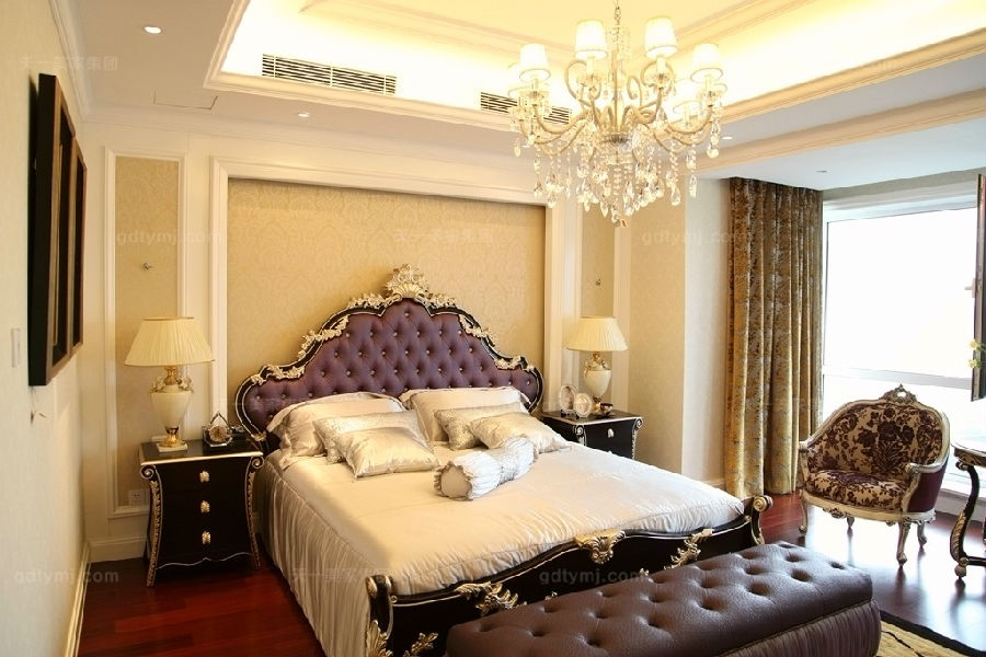 奢华新古典家具卧室1