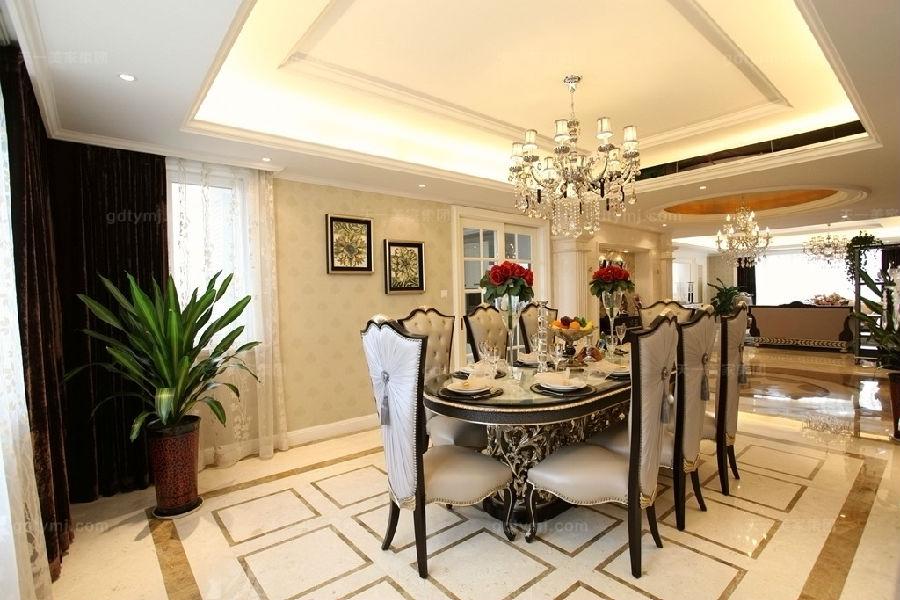 奢华新古典家具餐厅2