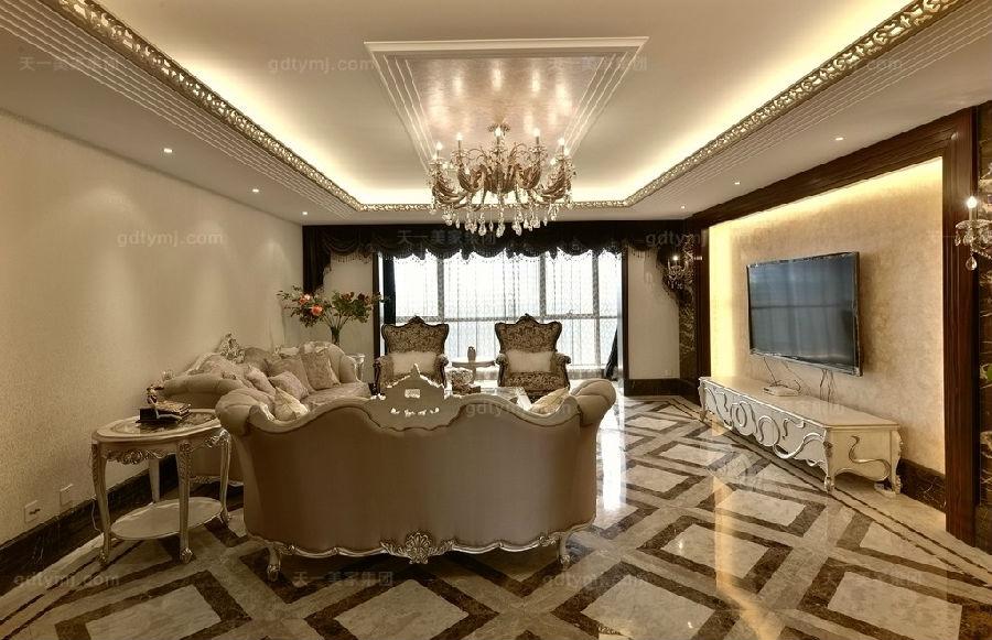 奢华新古典风客厅