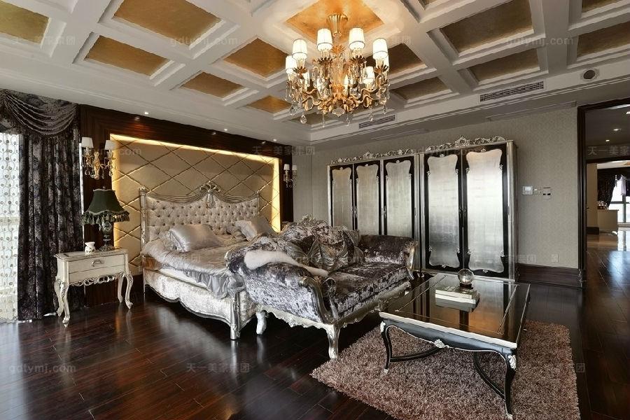 奢华新古典风卧室1