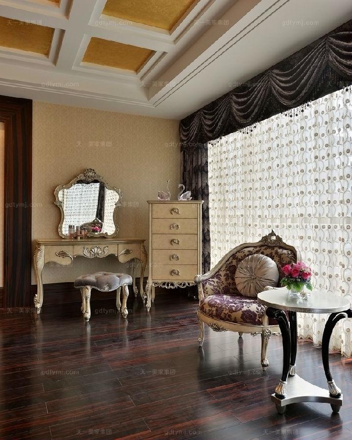 奢华新古典风卧室5
