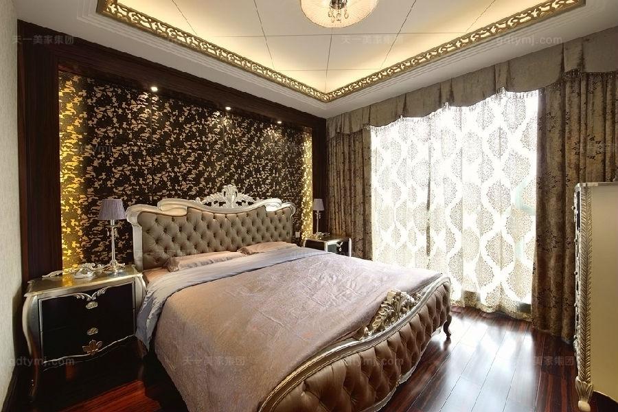 奢华新古典风卧室7