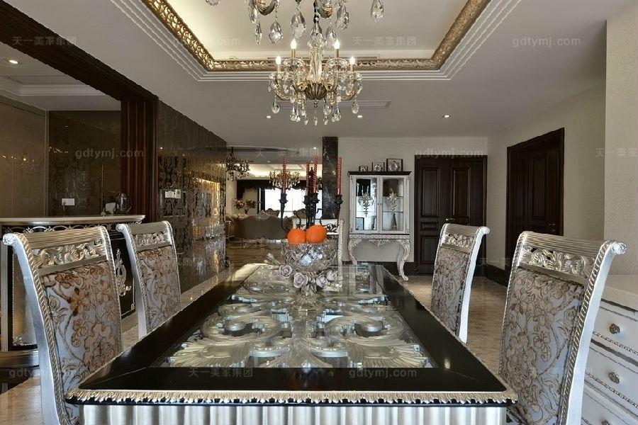 奢华新古典风餐厅